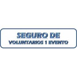 SEGURO DE VOLUNTARIOS 1 EVENTO